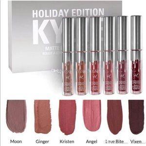 Kylie holiday edition matte liquid lipstick set